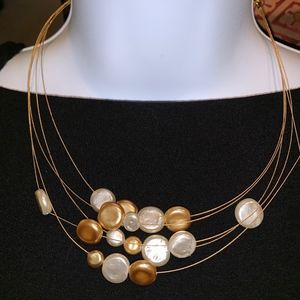 Multi rounded designs necklace